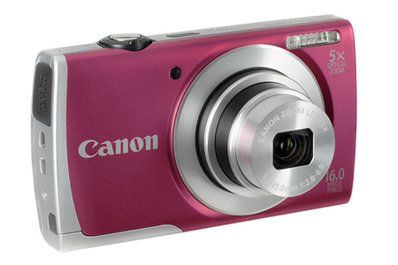 Appareil Photo Compact Canon A2500 ROUGE