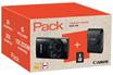 Appareil photo compact PACK IXUS 180 NOIR + ETUI + CARTE SD 8GO Canon