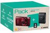 Appareil photo compact PACK IXUS 180 ROUGE + ETUI + CARTE SD 8GO Canon