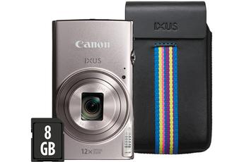 Appareil photo compact IXUS 285 HS GRIS + ETUI + 8GO Canon