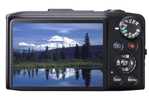Appareil photo compact Canon PowerShot SX 280 HS Noir + Etui + carte