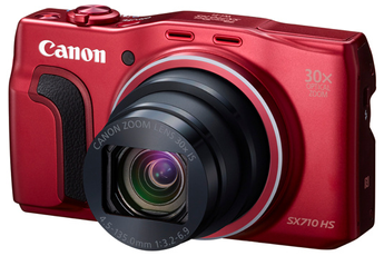 Appareil photo compact SX710 HS RED Canon