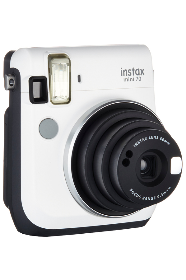 fujifilm instax mini 70 blanc appareil photo compact. Black Bedroom Furniture Sets. Home Design Ideas