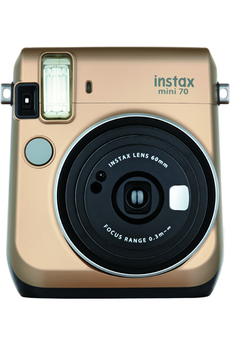 Appareil photo compact INSTAX MINI 70 GOLD Fujifilm