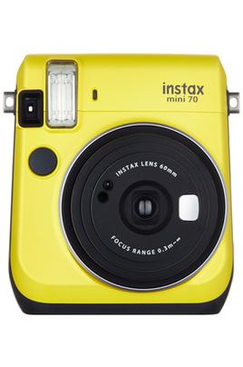 Instax Mini 70 l'instantané design et high tech ! L'appareil Instax Mini 70 dispose de différents modes de prise de vue pour répondre à un large éventail de situations. Un mode selfie pour réaliser de magnifiques autoportraits, vous pouvez vérifier votre