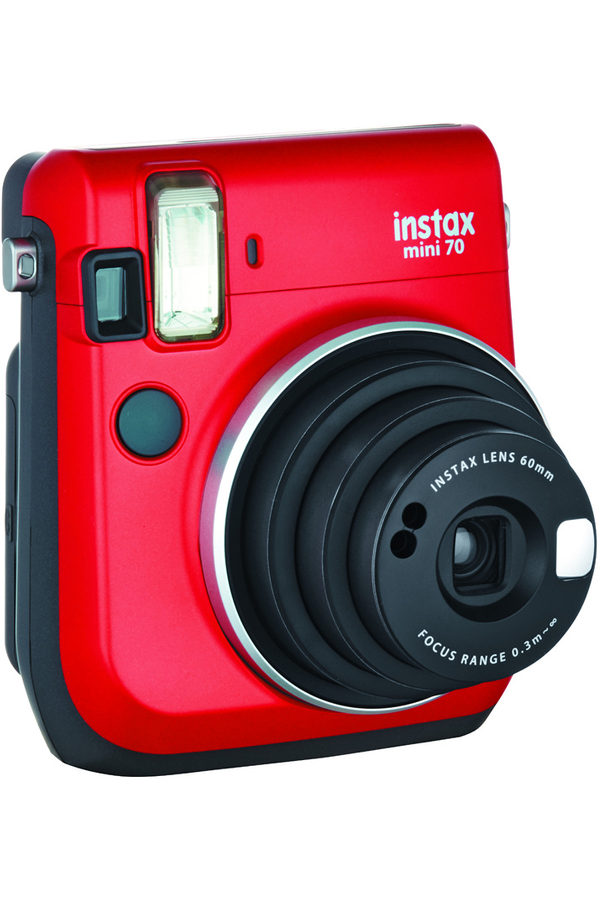 appareil photo compact fujifilm instax mini 70 rouge. Black Bedroom Furniture Sets. Home Design Ideas