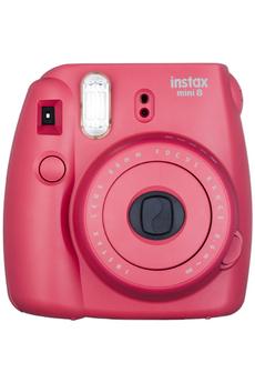 Appareil photo compact INSTAX MINI 8 FRAMBOISE Fujifilm