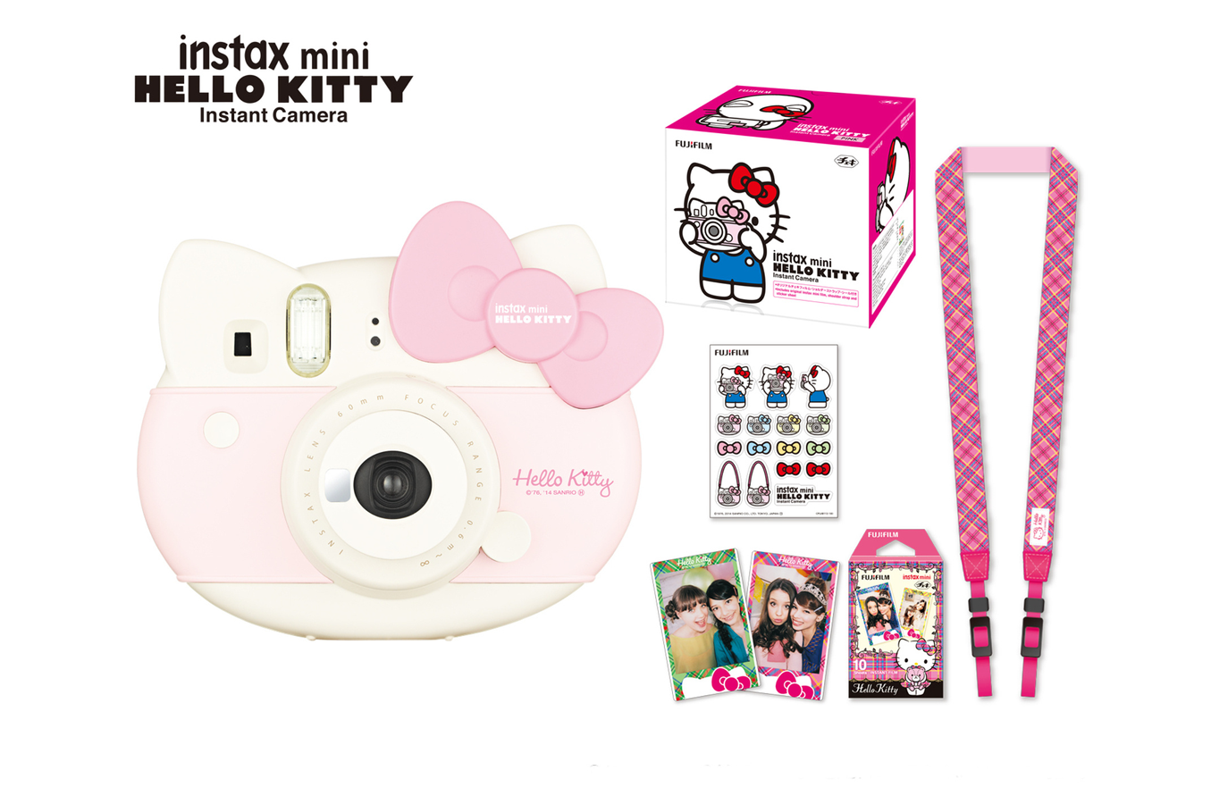appareil photo instantan fujifilm instax mini pack hello kitty 4064216 darty. Black Bedroom Furniture Sets. Home Design Ideas