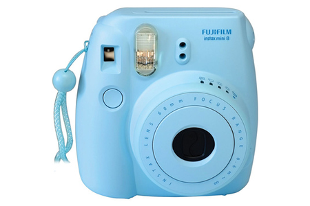 appareil photo instantan fujifilm instax mini 8 bleu darty. Black Bedroom Furniture Sets. Home Design Ideas