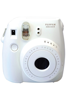 Appareil photo compact INSTAX MINI 8 BLANC Fujifilm