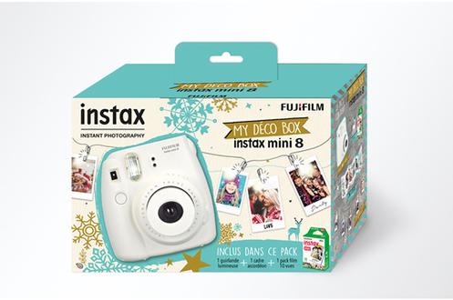 Appareil photo instantan fujifilm pack d co box instax for Appareil photo fujifilm darty