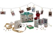 Appareil photo instantané Fujifilm Pack Déco Box Instax Mini 8 BLANC
