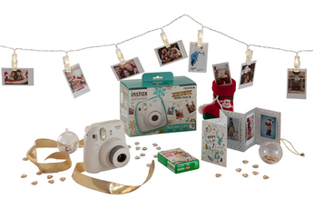 Appareil photo compact Pack Déco Box Instax Mini 8 BLANC Fujifilm