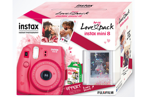 Appareil photo instantané MY LOVE PACK INSTAX MINI 8 Fujifilm
