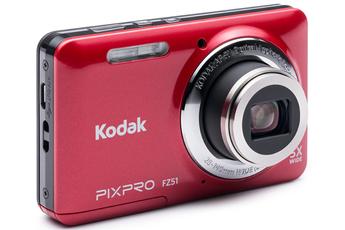 Appareil photo compact FZ51 ROUGE Kodak