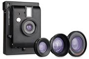 Appareil photo compact Lomography Lomo'Instant Mini Noir + 3 lentilles