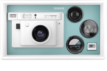 Appareil photo compact LOMO'INSTANT Wide Combo Blanc Lomography