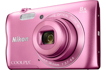 Appareil photo compact COOLPIX A300 ROSE Nikon