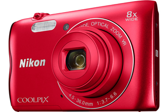 Appareil photo compact COOLPIX A300 ROUGE Nikon