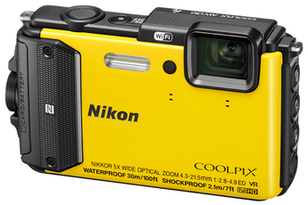 Appareil photo compact COOLPIX AW130 JAUNE Nikon