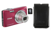 Nikon COOLPIX S2750 ROUGE + ETUI + SD 4 GO photo 1