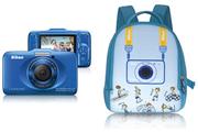 Nikon COOLPIX S31 BLEU + SAC A DOS