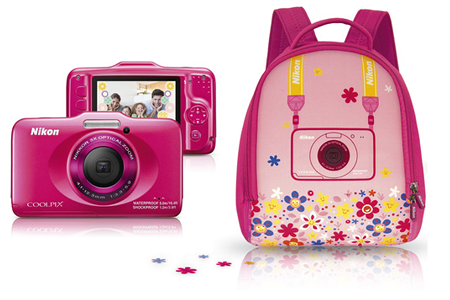 Coolpix S31 Rose Sac A Dos