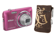 Nikon Coolpix S3500 Rose + Etui