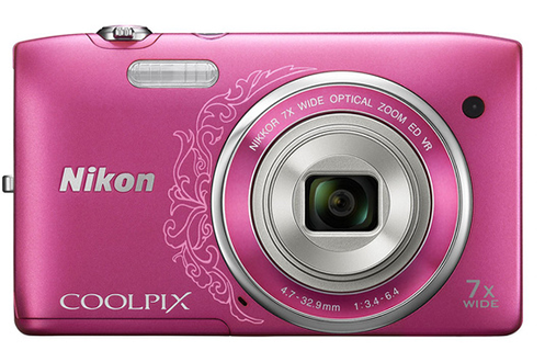 Nikon COOLPIX S3500 ROSE / 50 pts