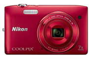 Nikon COOLPIX S3500 ROUGE