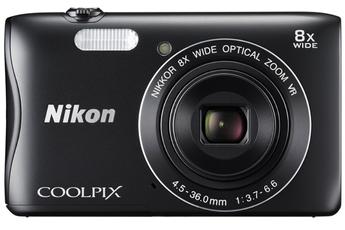 Appareil photo compact COOLPIX S3700 NOIR Nikon