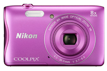 Appareil photo compact COOLPIX S3700 ROSE Nikon