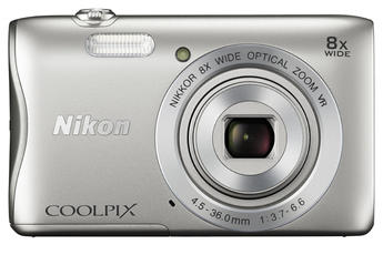 Appareil photo compact COOLPIX S3700 SILVER Nikon