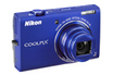 Nikon COOLPIX S6200 BLEU photo 1
