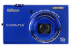 Nikon COOLPIX S6200 BLEU photo 2