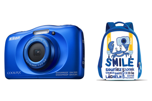 Appareil photo compact COOLPIX W100 BLEU PACK SAC A DOS Nikon