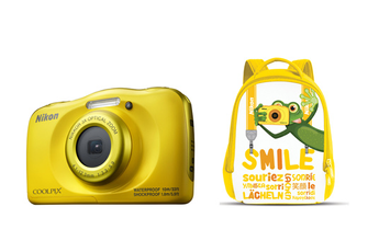 Appareil photo compact COOLPIX W100 JAUNE PACK SAC A DOS Nikon