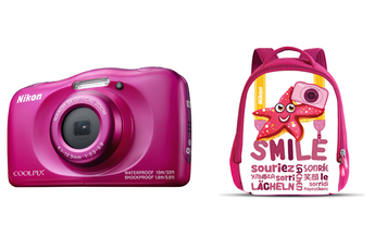 Appareil photo compact COOLPIX W100 ROSE PACK SAC A DOS Nikon