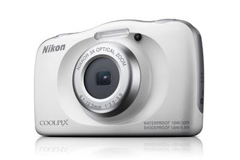 Appareil photo compact Nikon COOLPIXW150 BLANC + SAC