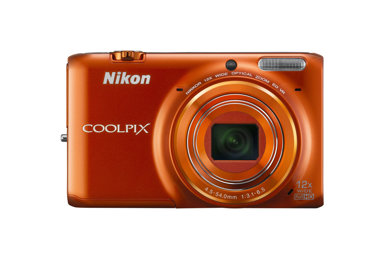 appareil photo compact nikon coolpix s6500 orange 1372629 darty. Black Bedroom Furniture Sets. Home Design Ideas