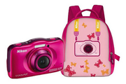 Nikon S32 KIT SAC A DOS ROSE