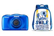 Nikon COOLPIX S33 KIT SAC A DOS BLEU