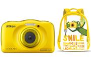 Nikon COOLPIX S33 KIT SAC A DOS JAUNE