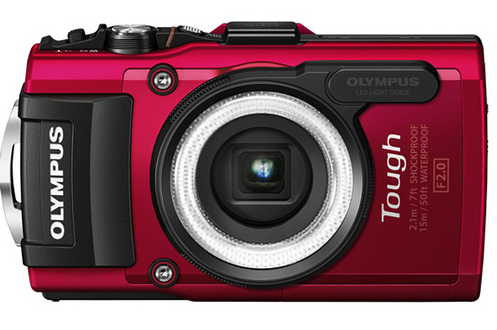 Appareil photo compact Olympus TG-3 Rouge