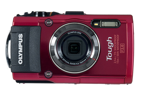Appareil photo compact STYLUS TG-4 ROUGE Olympus