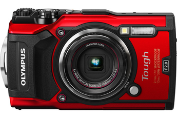 Appareil photo compact TG-5 ROUGE Olympus