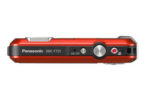 Panasonic LUMIX DMC-FT25 ROUGE