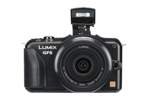 Panasonic DMC-GF5 NOIR + 14-42 MM + 14 MM