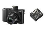 Appareil photo compact Panasonic DMC-TZ100EF-K + 2EME BATTERIE