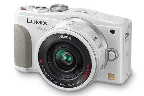 Panasonic LUMIX DMC-GF6X BLANC + 14-42 POWERZOOM